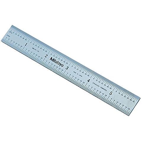Mitutoyo Rule Rigid Engineers Stainless Steel Metal Ruler 150mm 6