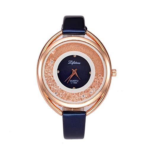 0a30bff69 HuaMore Reloj Hombre, Reloj De Cuarzo Romano. Si todavía no te has decidido  entre todos los relojes bluetooth baratos ...