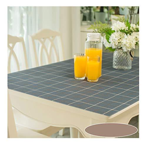 Duoming tovaglia impermeabile antiscottatura a prova d'olio monouso in vetro morbido pad tavolino da caffè tabletop pellicola protettiva tovaglie