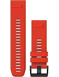Garmin Herren Uhrband rot Einheitsgröße