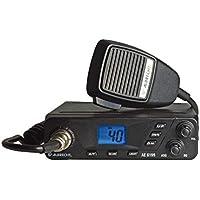 Albrecht AE6199 CB-Funkgerät mit 6-pol. Mikrofon, Multistandard Gerät mit ASQ Automatiksquelch, 4W Sendeleistung