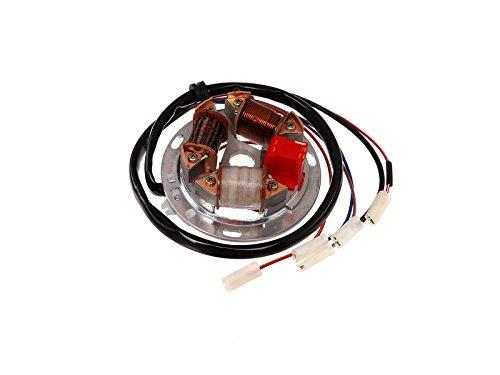 Preisvergleich Produktbild FEZ Grundplatte 8305.1/4-100, 6V Elektronik (35/21W Bilux) - für Simson S51, S70