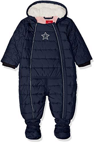 s.Oliver Junior Baby-Mädchen Schneeanzug 59.810.85.2762, Blau (Dark Blue 5834), 80
