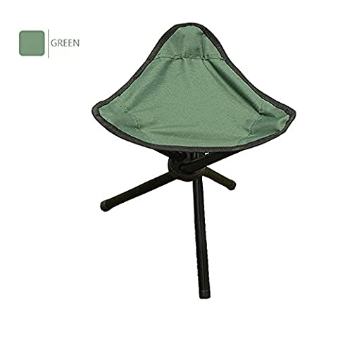 Ezyoutdoor Foldable Stool for Fishing Outdoor Camping Stools Portable Sturdy Folding Stools Chairs for Adults Teens Kids Supports 220 Pounds Large Size