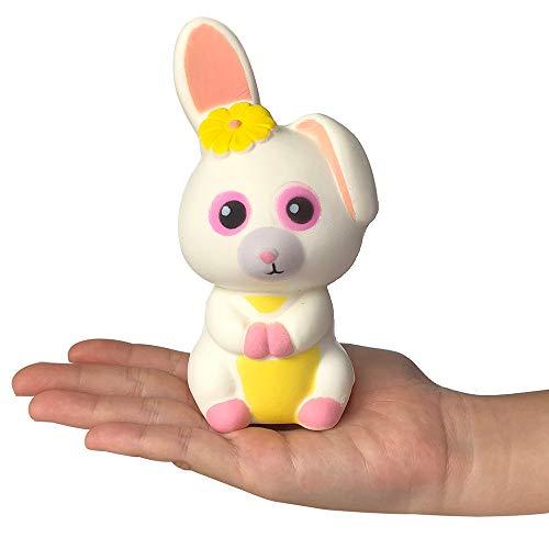 Odjoy-fan-giocattolo di decompressione per adulti coniglio a orecchie lunghe carinoportachiavi regalo della -rimbalzo lento giocattolo pu scented charm slow rising collection squishies