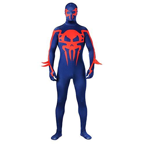 SHANGN Spiderman Kostüm, Kinder Adult Movie Cosplay Kostüm, Ganzkörper Halloween Cosplay Anzug, Spandex Dress Up Body,Adult-S