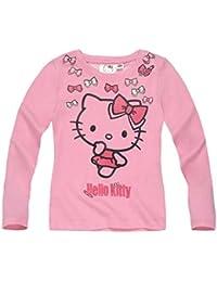 Hello Kitty Mädchen Langarmshirt 2016 Kollektion - rosa