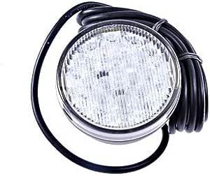 Hella 2be 980 690 301 Blinkleuchte Led 24v Rund Einbau Lichtscheibenfarbe Glasklar Led Lichtfarbe Gelb Weiß Kabel 2500mm Vorne Auto