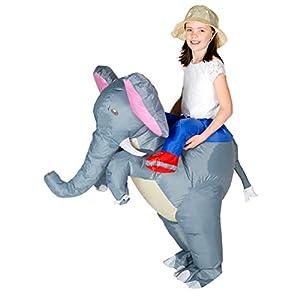 Bodysocks® Disfraz Hinchable de Elefante Niño