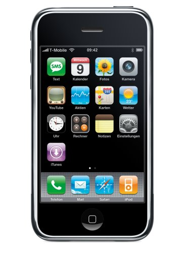 Apple Computer Apple iPhone 3G 16GB - Schwarz
