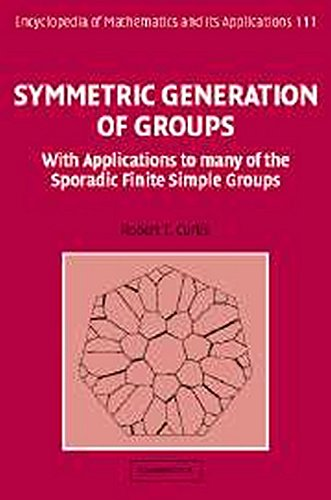 Symmetric Generation of Groups Hardback: With Applications to Many of the Sporadic Finite Simple Groups (Encyclopedia of Mathematics and its Applications)