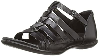 ecco flash damen sandalen schuhe handtaschen. Black Bedroom Furniture Sets. Home Design Ideas