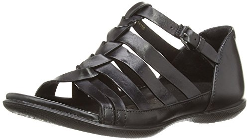 ECCO Ecco Flash 2407930, Sandali donna, Nero (Black), 3 UK