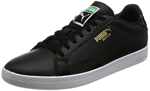 Puma Match Lo Black and White Wn's, Scarpe da Ginnastica Donna, Bianco Nero (Black-black-white 02)