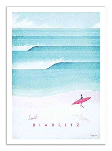 Art-Poster - Surf Biarritz - Henry Rivers