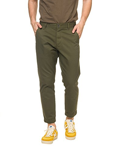 dr-denim-jeansmakers-mens-diggler-mens-khaki-chino-pants-in-size-w31-l32-green