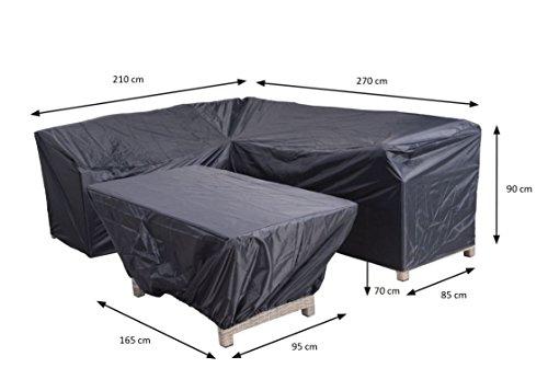 Garden Impressions Reißfeste Schutzhülle aus Ripstop-Polyestergewebe z. B. für Lounge Möbel...