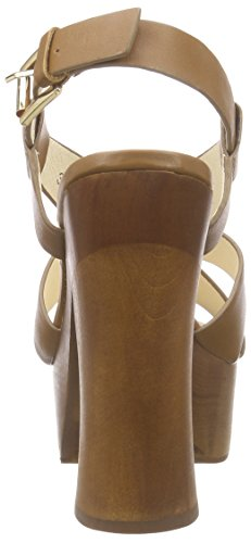 Braun Buffalo Crust Damen London Paul Leather mit Camel Plateau 3168 315 Sandalen Blockabsatz 1 qr7XwgqBC