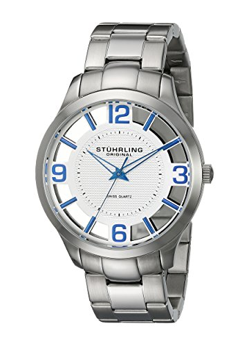 stuhrling-original-classic-winchester-court-mens-quartz-watch-with-silver-dial-analogue-display-and-
