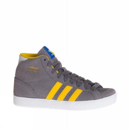 size 40 a07c4 441ca Adidas Sneaker Alta Basket Profi K GrigioGiallo EU usato Spedito ovunque  in Italia
