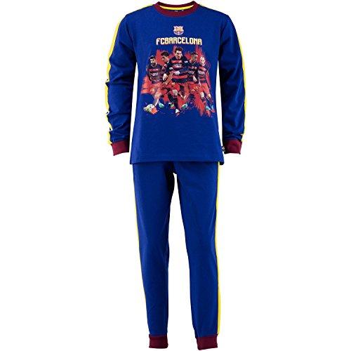FC Barcelone - Conjunto pijama oficial camiseta pantalones