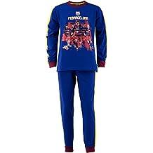 FC Barcelone - Conjunto de pijama oficial de camiseta y pantalones del FC Barcelona (talla
