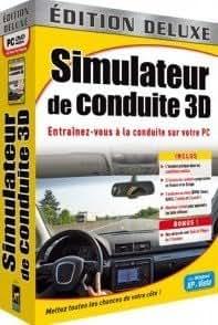 simulateur de conduite deluxe pc jeux vid o. Black Bedroom Furniture Sets. Home Design Ideas