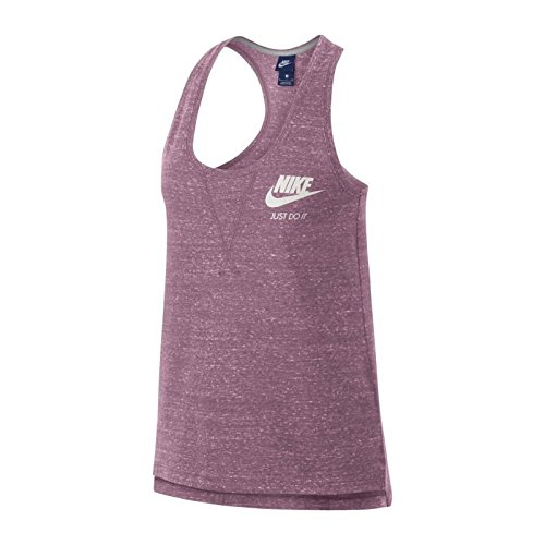 Nike W NSW Gym VNTG Tank Camisetas y Tops, Mujer, Elemental Pink/Sail, XL