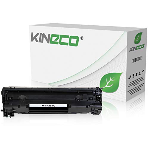 Kineco Toner kompatibel zu HP CF283A Laserjet Pro M125nw, M125rnw, Laserjet Pro M127fw, Laserjet Pro M127FN, MFP M225DW DN, Laserjet 128, 120 Series - 83A - Schwarz 1.500 Seiten