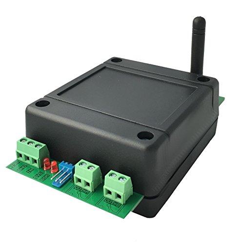 GSM Quadband Funk Modul / Steuerung per SMS mit 2x Relais Ausgängen NC/NO max. 230V und 10A