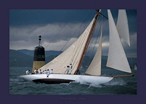 1art1 45152 Segelboote - Tuiga 47sm, Valéry Hache Poster Kunstdruck 70 x 50 cm (Valery Boot Lo)