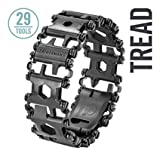 Leatherman Armband TREAD schwarze DLC-Beschichtung 29 Tools, stufenlos verstellbar, 70-105 mm, Box...