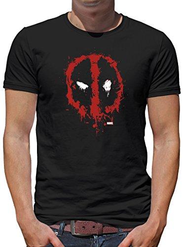 TLM Marvel - Deadpool T-Shirt Herren S (Surfer Kostüm Silver Halloween)