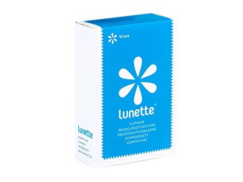 Lunette Cupwipe - Reinigungstuch für alle Menstrutionstassen (10Stk.)