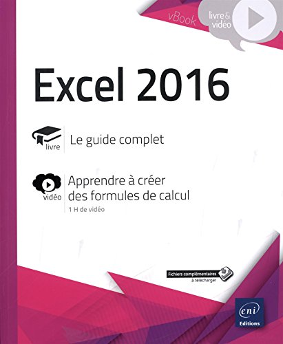 Excel 2016 - Complément vidéo : Apprenez à créer des formules de calcul