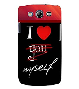 ColourCraft Love Back Case Cover for SAMSUNG GALAXY S3 I9300