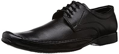 Albert & James Men's Black Formal Shoes -7 UK/India (41 EU)(8 US)