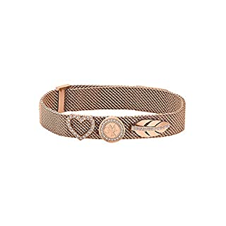 GMK Collection by Christ Damen-Armband Edelstahl 0 Zirkonia One Size Rosé 32003083