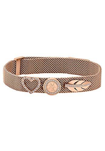 GMK Collection by Christ Damen-Armband Edelstahl 0 Zirkonia One Size Rosé 32003083