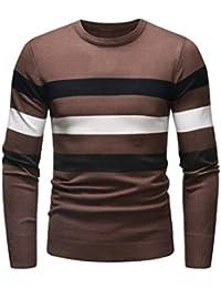 Suéter de otoño Invierno Jersey Pullover Jersey de Punto Outwear Blusa ... b76f9284e1d