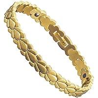 Damen-Magnettherapie-Armband, Kupfer, vergoldet, Entlastung für Arthritis preisvergleich bei billige-tabletten.eu