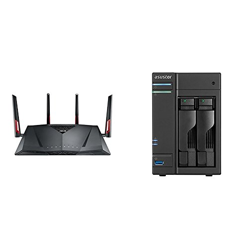 RT-AC88U Router + passendes Asustor NAS AS6302T