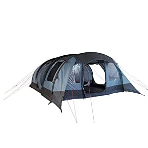 10t outdoor equipment unisex kallisto 6 air tunnel tent, blue, one size/6 persons