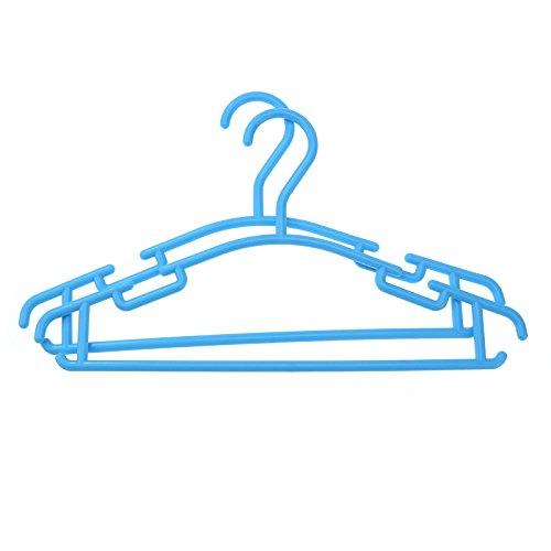 oobest 10 pcs Haute qualité Vêtements Manteau Pantalon Bar Hanger Enfant en Plastique Vêtements Cintre Cintre