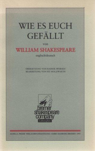 As you like it/Wie es euch gefällt (Livre en allemand) par William Shakespeare
