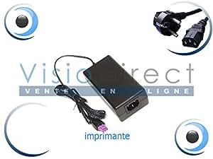Adaptateur Alimentation Chargeur pour Imprimante HP COMPAQ Photosmart C4580 Visiodirect