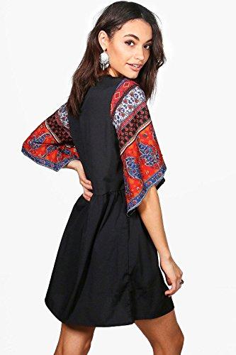 Damen Multi Boutique Kyra Verziertes Hängerchenkleid Multi