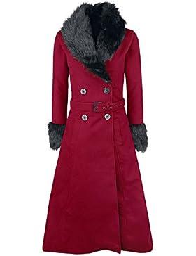 Rockabella Bianca Coat Cappotto donna rosso