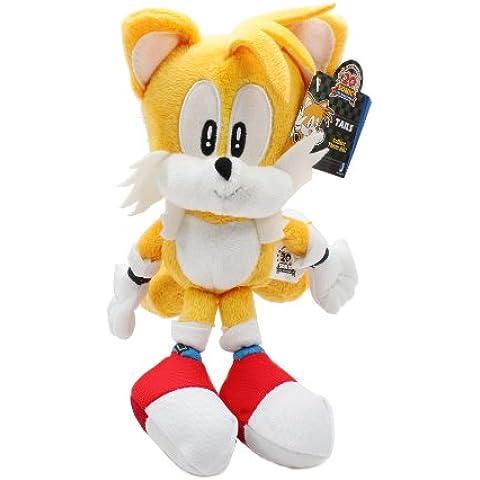 Peluche Sonic the Hedgehog 20 Aniversario 18cm [Tails clásico]