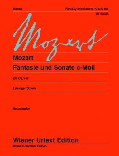 .475) y Sonata en Do menor (K.457) para Piano (Urtext) (Leisinger/Scholz) ()